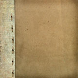 Grunge cover for album or portfolio Royalty Free Stock Photo