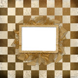 Grunge cover for album or portfolio Stock Images
