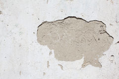 Grunge crack wall plastered texture Stock Photo
