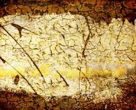 Grunge cracked background. Grunge background of smeared and cracked concrete stock photography