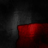 Grunge cracked background in black and red Stock Images