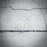 Grunge, cracked black wall (urban texture) Royalty Free Stock Image