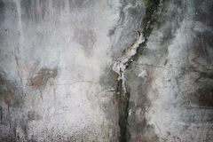 Grunge cracked concrete wall Stock Image