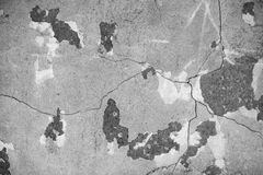 Grunge cracked concrete wall Stock Photography