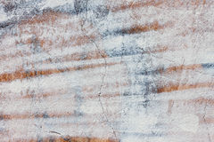 The Grunge cracked concrete wall for design Stock Photos