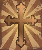 Grunge cross Royalty Free Stock Photo