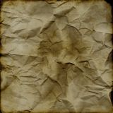 Grunge crumpled backdrop royalty free stock images