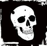 grunge czaszki wektor royalty ilustracja