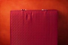 Grunge czerwieni tło Obrazy Stock