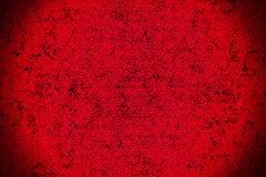 Grunge czerwonej tekstury winiety abstrakcjonistycznej sztuki martwiący i stały tekstury tło Zdjęcia Royalty Free