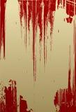 grunge czerwony tekstury wektor Fotografia Royalty Free