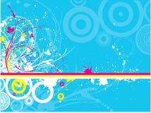 Grunge décorative illustration de vecteur
