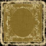 Grunge décorative de tissu Images stock