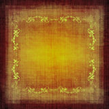 Grunge décorative de tissu de cru illustration libre de droits