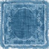 Grunge décorative de tissu de cru Photo stock