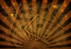 Grunge d'argent Photographie stock libre de droits