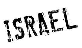 Grunge da borracha do selo de Israel Foto de Stock