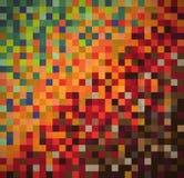 Grunge dachówkowa tekstura, retro tło Obraz Royalty Free