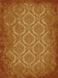 Grunge damask Stock Image