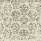 Grunge Damask Pattern Stock Photos