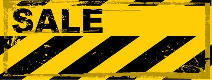 Grunge danger banner Stock Images