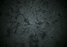 Grunge dark abstract vector wall texture Stock Image