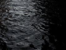 grunge dark black water texture background Royalty Free Stock Photography