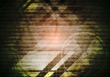 Grunge dark tech background Royalty Free Stock Image