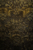 Grunge dark wall ornament texture Royalty Free Stock Photography