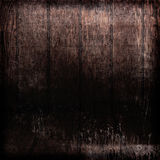 Grunge Dark Wood Background Stock Image