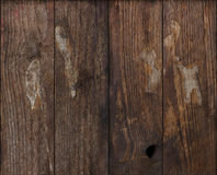 Grunge dark wood background Royalty Free Stock Photos