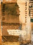 Grunge de collage illustration de vecteur