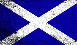 Grunge de drapeau de Scotish Photo stock