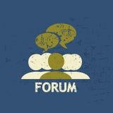 Grunge de forum illustration libre de droits