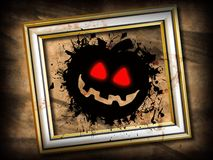 Grunge de Halloween Foto de Stock Royalty Free