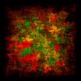 Grunge de la hoja Fotos de archivo libres de regalías