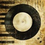 Grunge de la música Fotografía de archivo libre de regalías