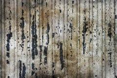 Grunge de la textura del metal con los rasguños Imagenes de archivo