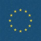 Grunge de la unión europea Imagen de archivo libre de regalías