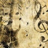 Grunge de Musick Image stock