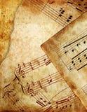 Grunge de musique Images libres de droits