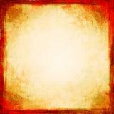 Grunge de oro con el marco en negrilla Imagenes de archivo