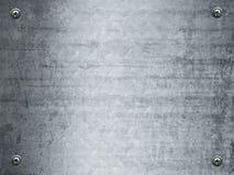 Grunge de plaque métallique Image libre de droits