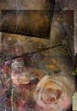 Grunge de Rose Photographie stock libre de droits