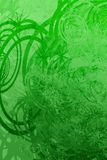 Grunge de Swirly Image stock