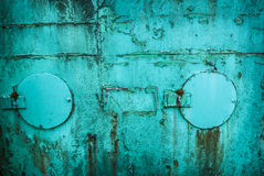 Grunge 3 de turquoise Photo libre de droits