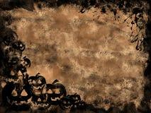 Grunge de Víspera de Todos los Santos Imagen de archivo