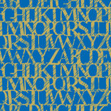 Grunge del alfabeto (vect inconsútil Stock de ilustración