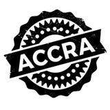 Grunge del caucho del sello de Accra Fotografía de archivo