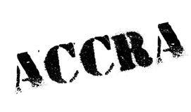 Grunge del caucho del sello de Accra Fotografía de archivo libre de regalías